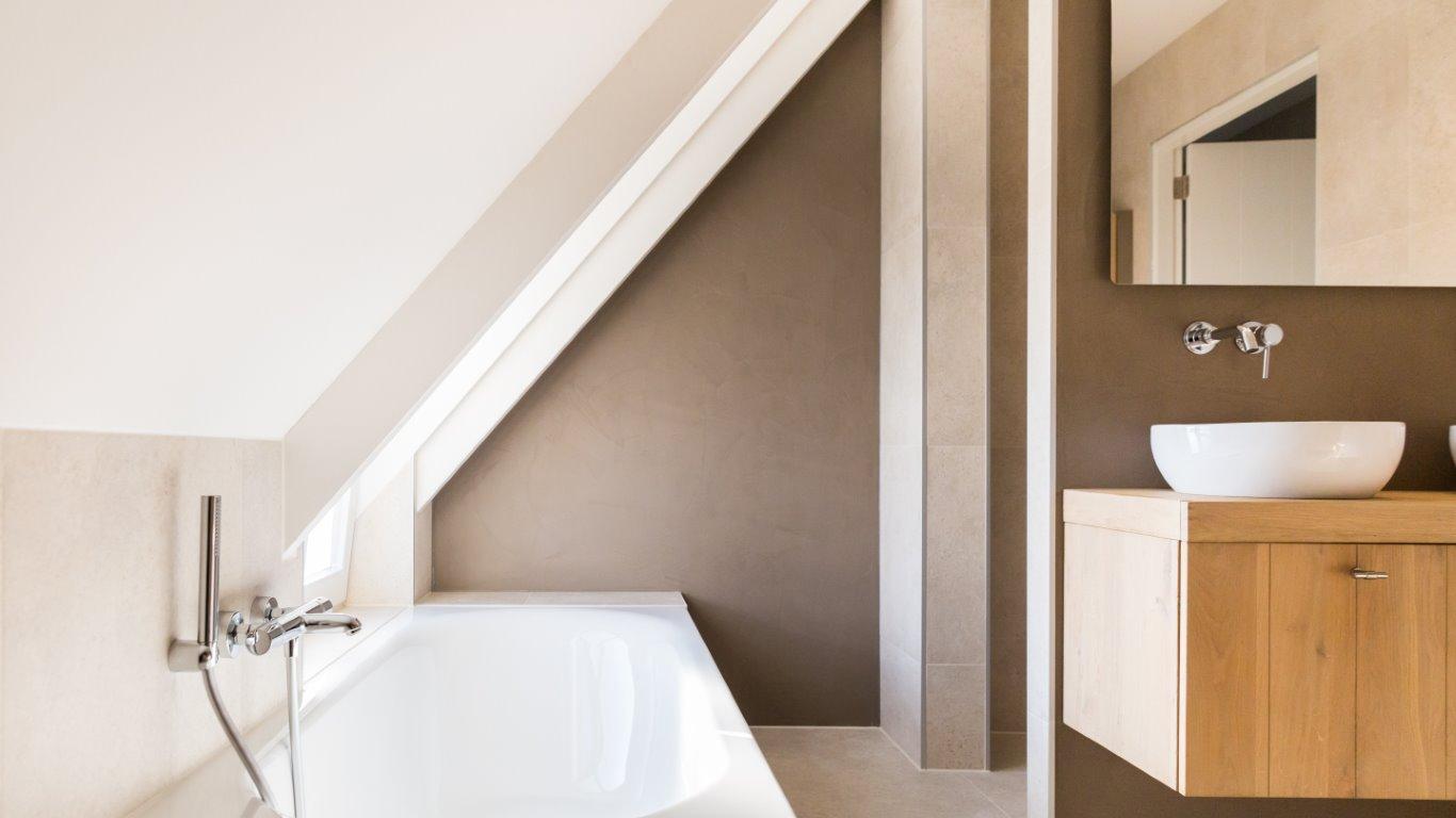 Natuursteen tegels badkamer steenbergen tegels