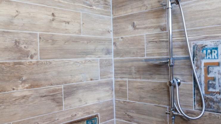 Badkamer Tegels Ede : Houtlook badkamer ede steenbergen tegels