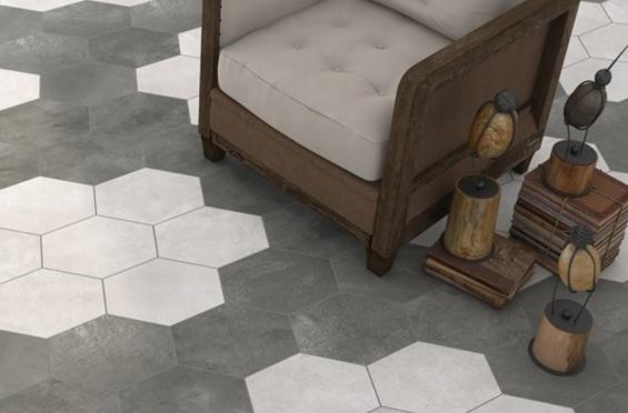 Tegels Keuken Honingraat : Hexagon tegels vloer kopen steenbergen wand en vloertegels